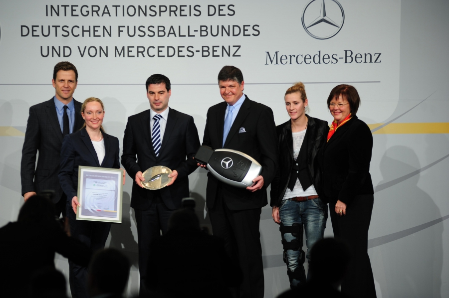DFB- und Mercedes Benz Integrationspreis